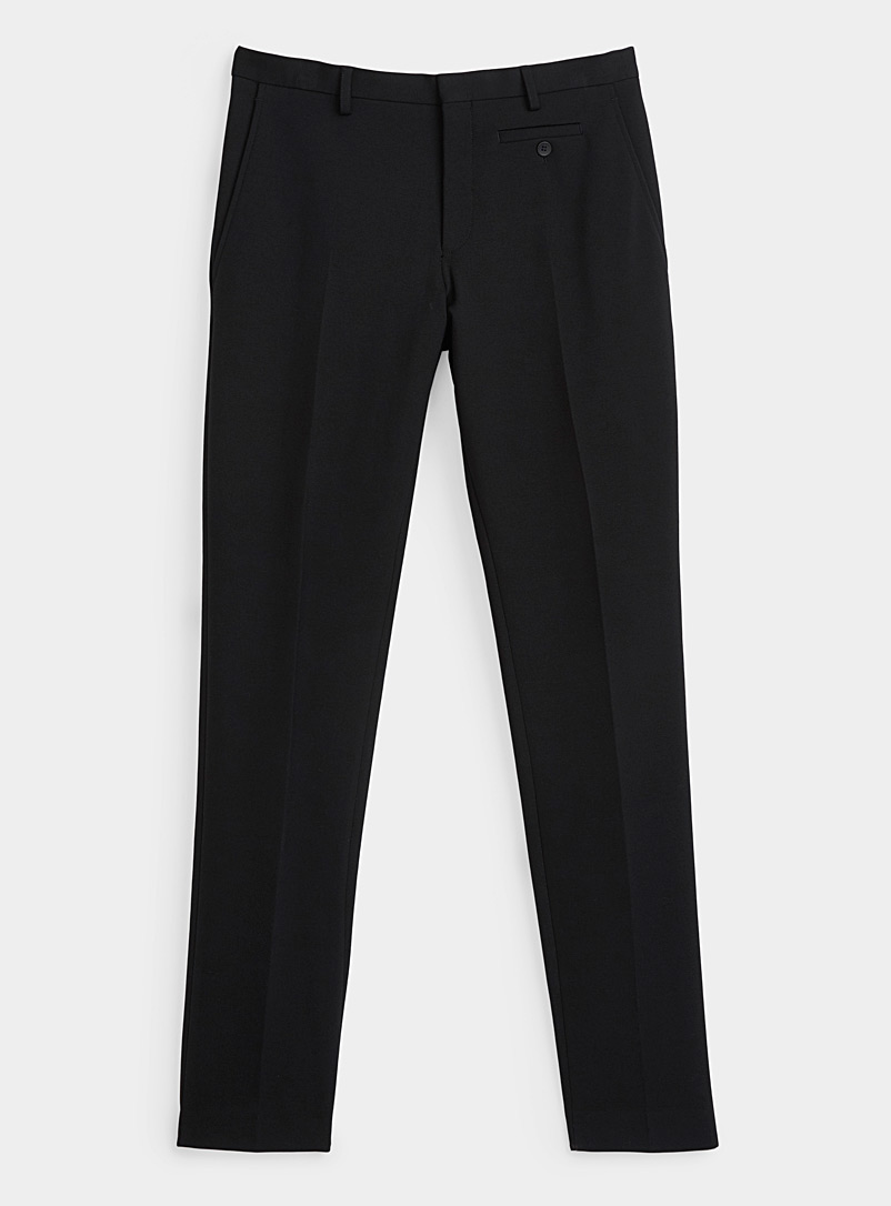 Sarah Pacini MAN Black Stretch pant for men