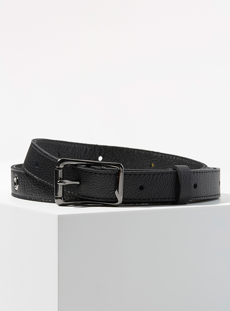 eyelet-leather-belt