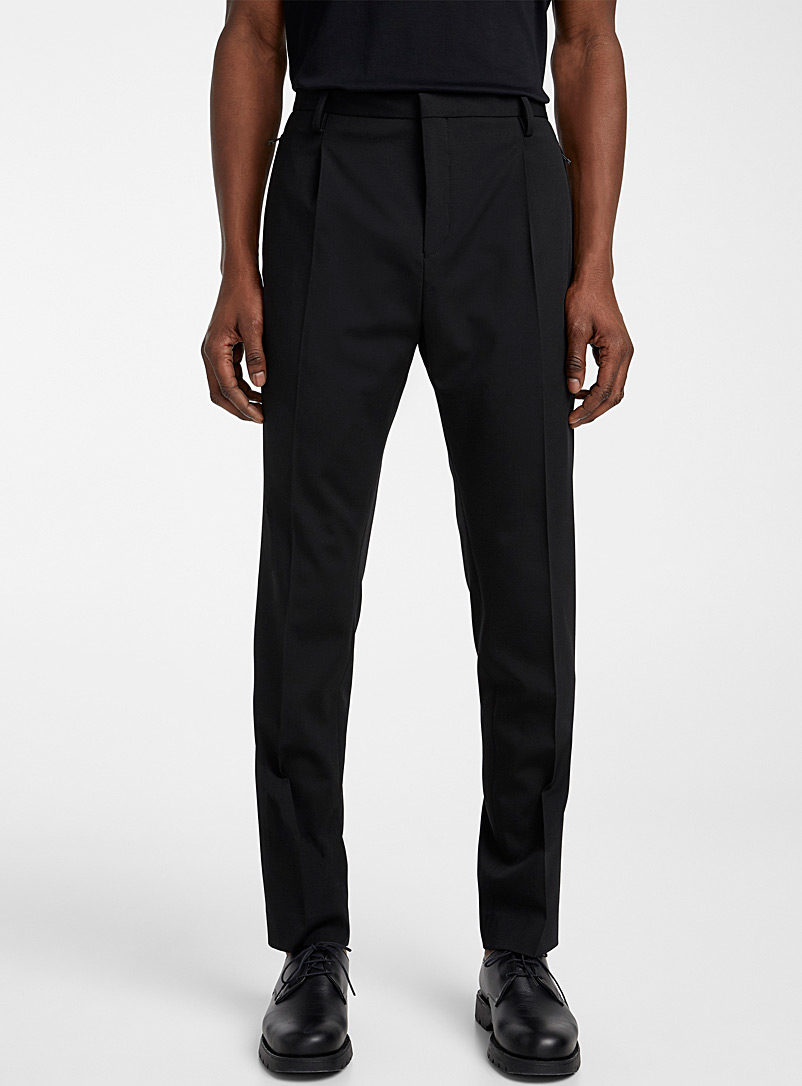 Philippe Dubuc Black Contemporary pant for men