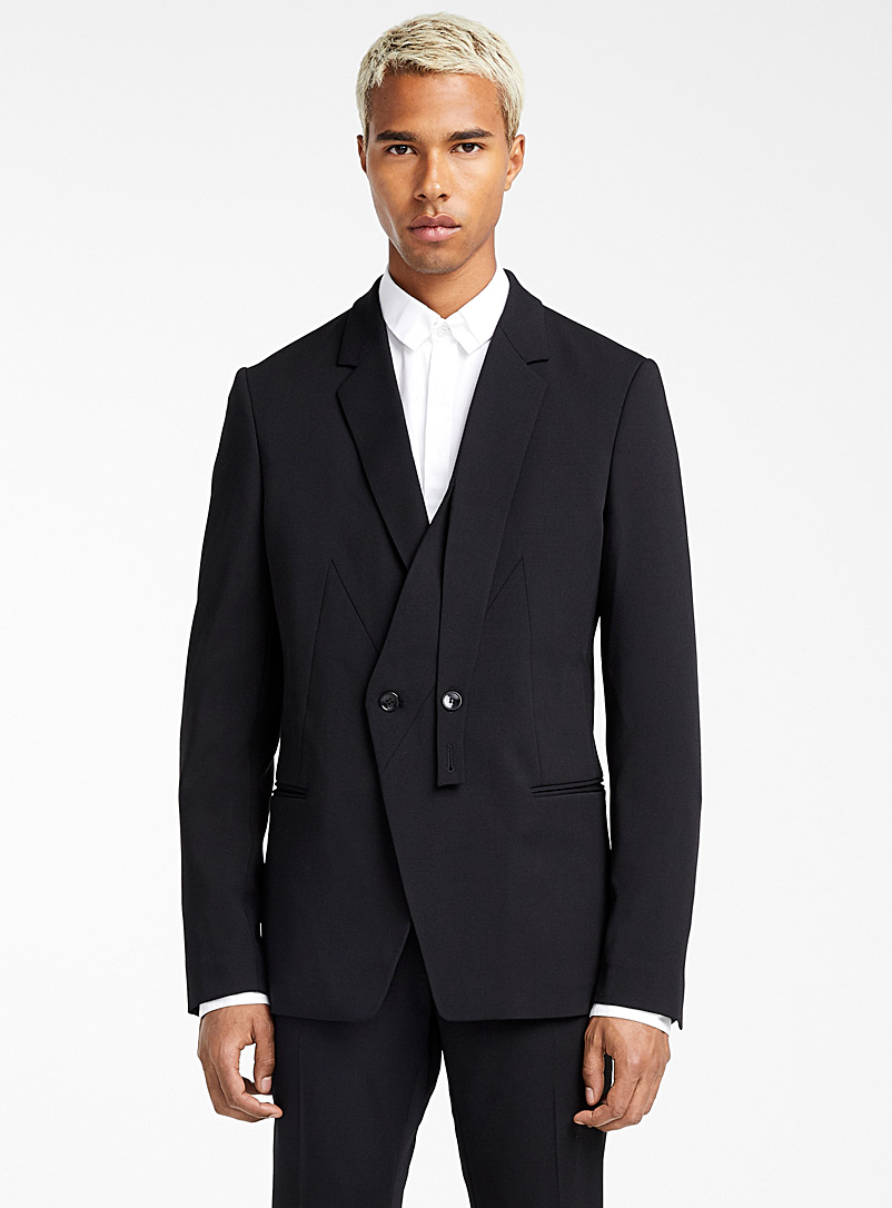 Gabardine jacket - Philippe Dubuc - Black