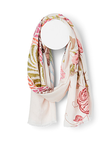 Fraas Assorted Floral dynasty scarf for women