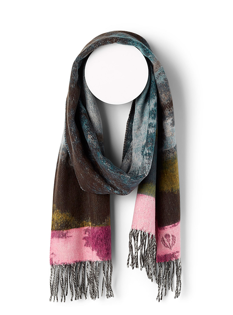 Artistic hanging scarf