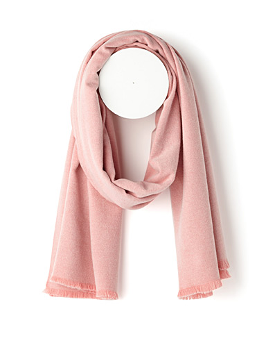 Monochrome ultra soft scarf