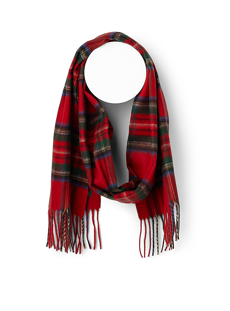 Saturated check scarf - Winter Scarves