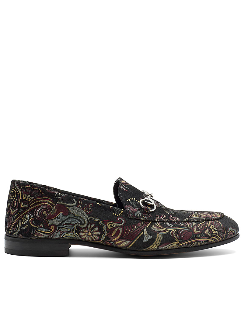 Jacquard loafers - Dress - Ruby Red