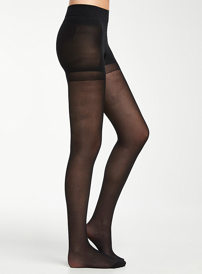 Swedish stockings: Le bas Anna Noir pour femme