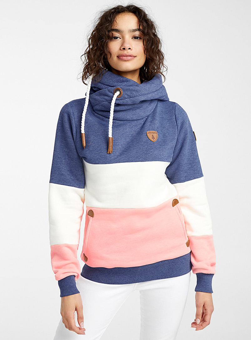 Wanakome Assorted Tricolour hoodie for women