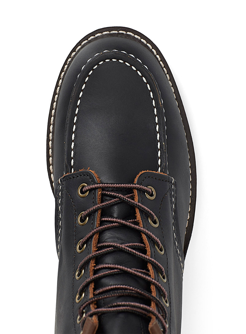 Red Wing Shoes Black Traction Tred six-inch classic boots for men