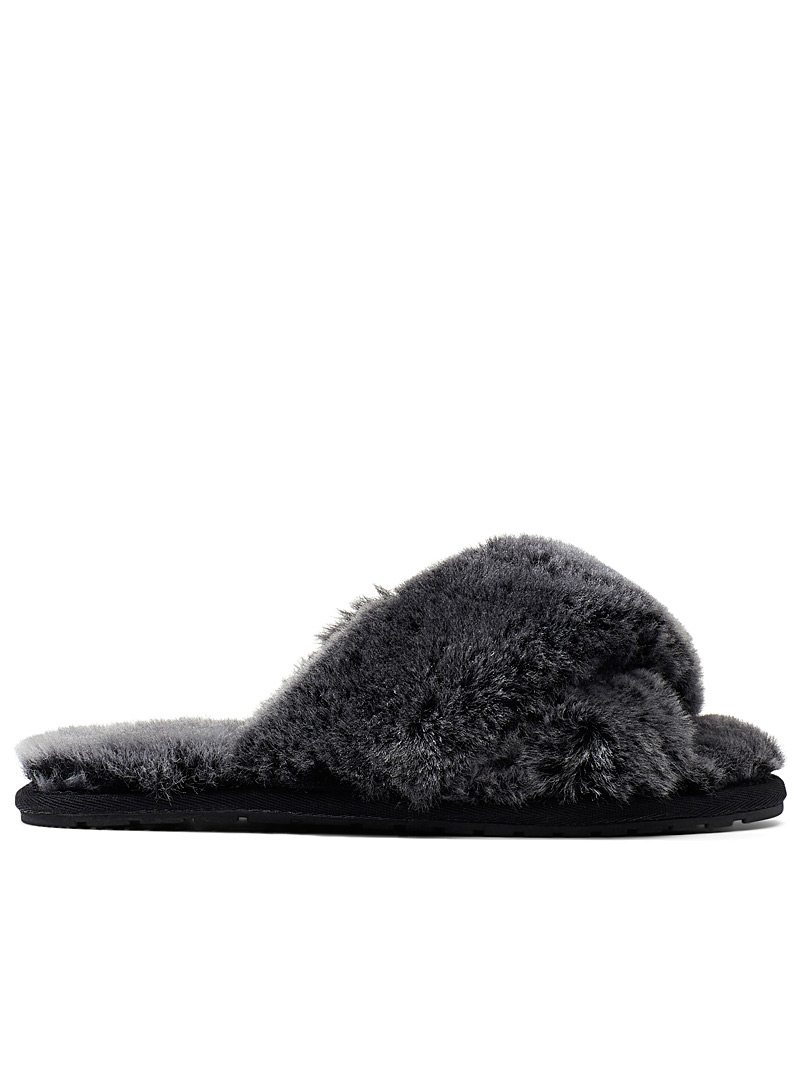 Mayberry Frost slides - Slippers - Dark Grey
