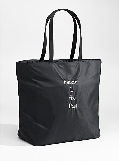 Undercover Black Future is the Past tote for men