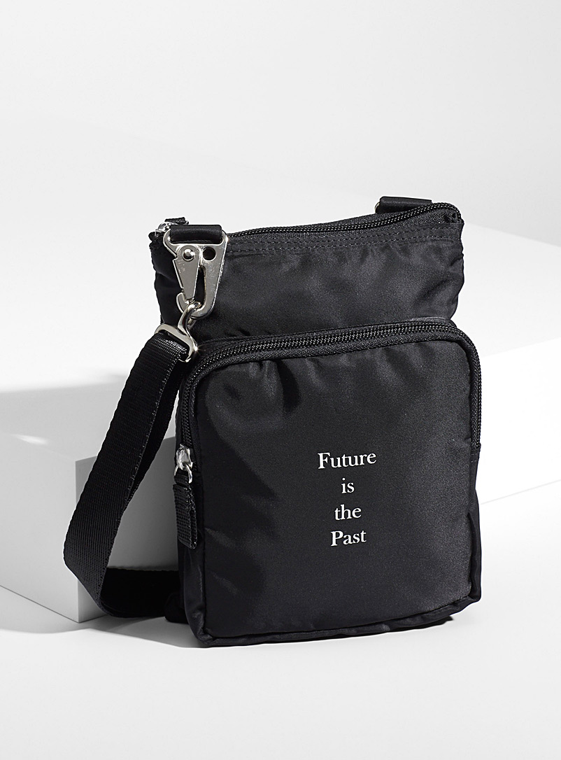 Undercover Black Future is The Past bag for men