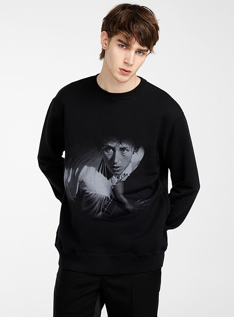 Undercover Black Cindy Sherman sweatshirt for men