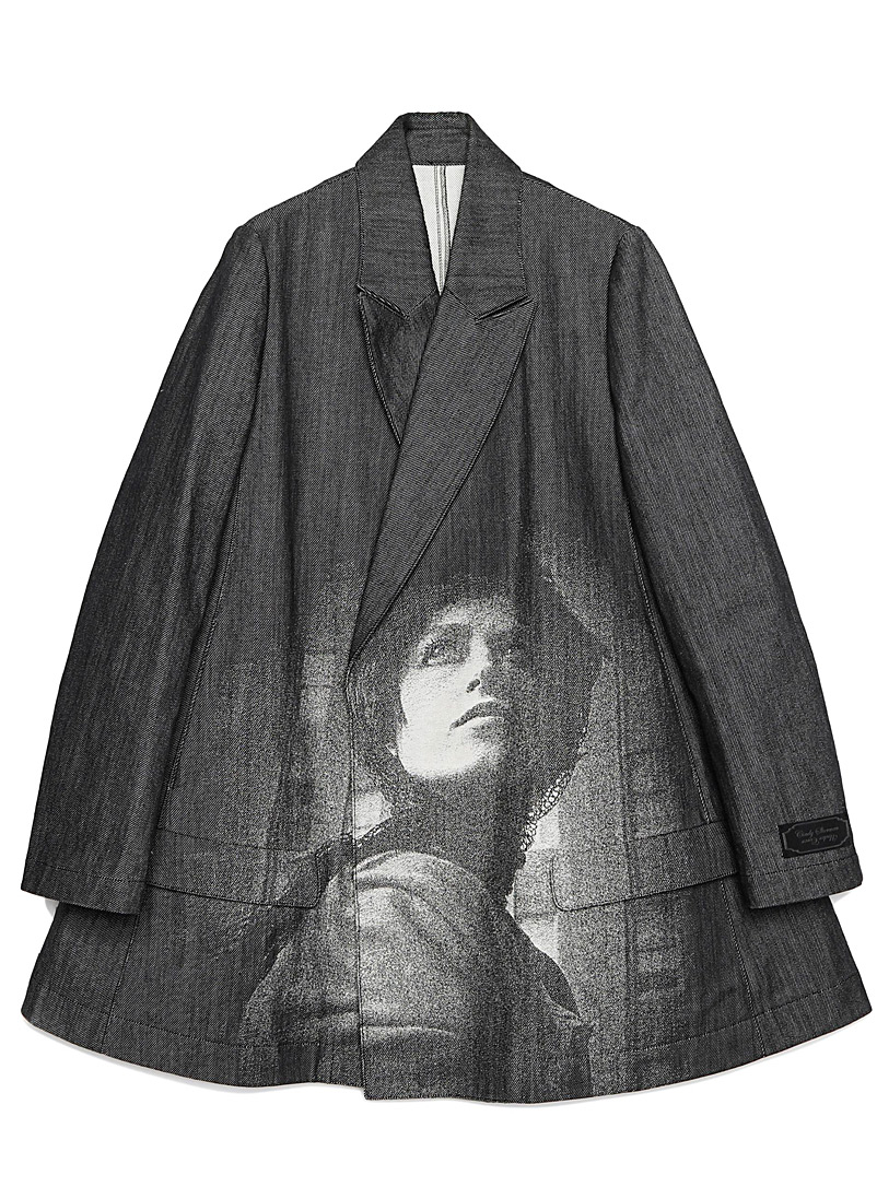 Undercover Black Cindy Sherman long jacket for women