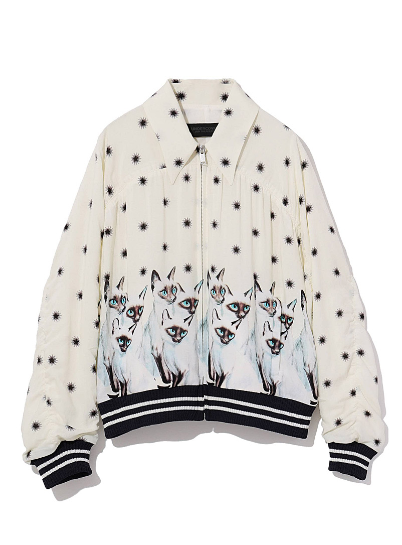 Undercover Ivory White Siamese jacket for women