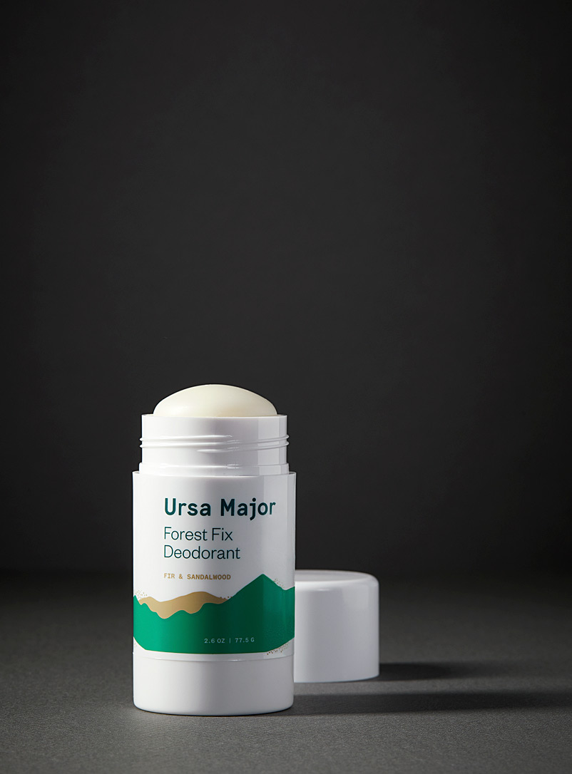 Ursa Major White Forest Fix natural deodorant for men