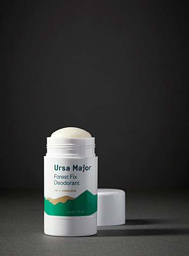 Ursa Major: Le déodorant naturel Forest Fix Blanc pour homme