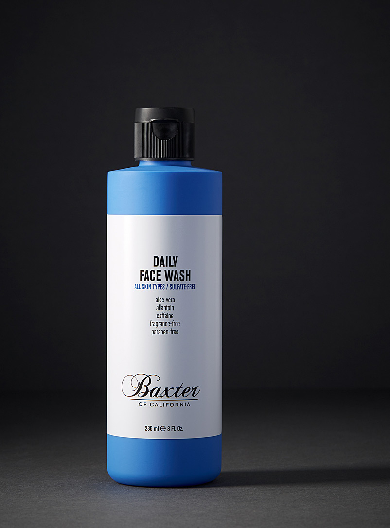 Baxter of California Blue Sulfate-free face wash for men