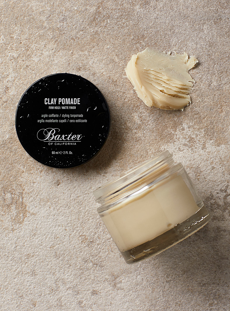 Baxter of California White Clay pomade for men