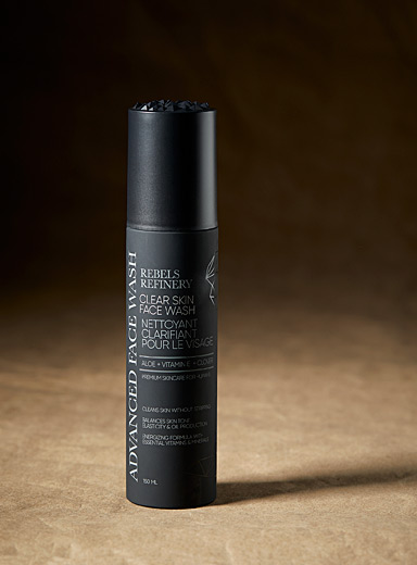 Rebels Refinery Black Face and beard cleanser for men