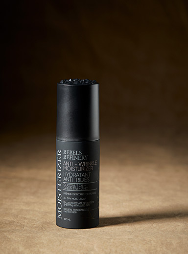 Rebels Refinery Black Anti-wrinkle moisturizer for men