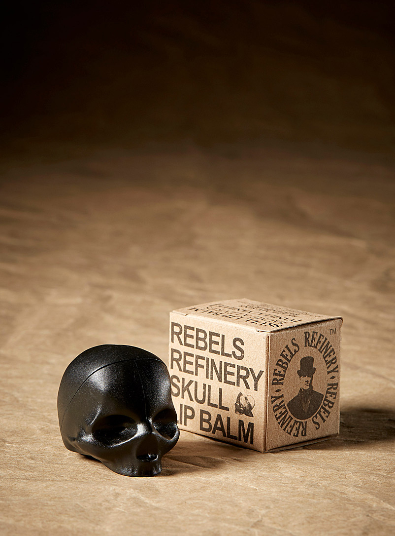 Rebels Refinery Black Vanilla lip balm for men