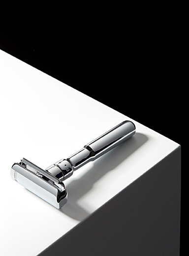 Merkur Assorted Futur chrome finish safety razor for men