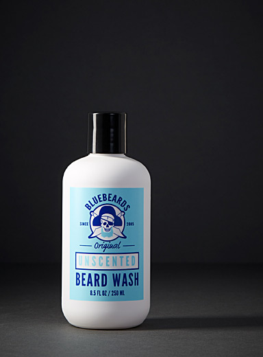 Unscented beard shampoo