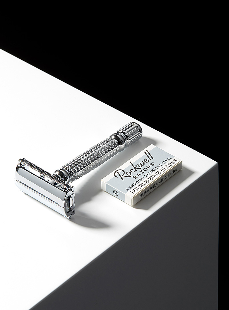 R1 Rookie butterfly-head safety razor