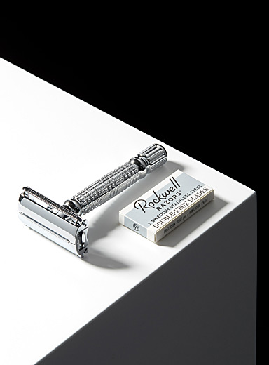 R1 Rookie butterfly head safety razor