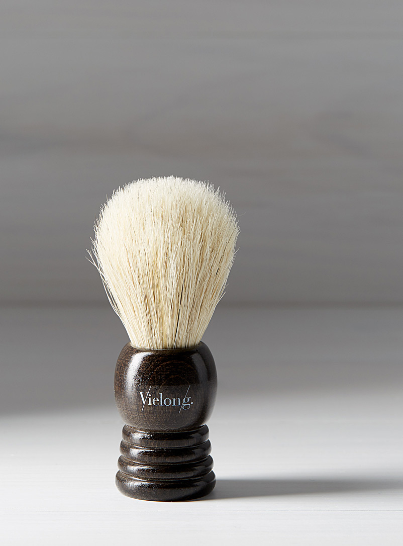 Badger and horsehair shaving brush