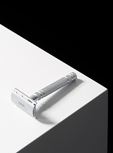 AS-D2 stainless steel safety razor