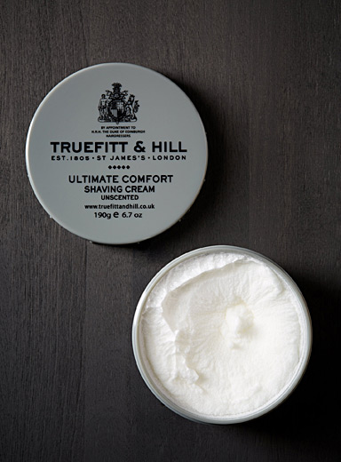 Ultimate Comfort unscented shaving cream