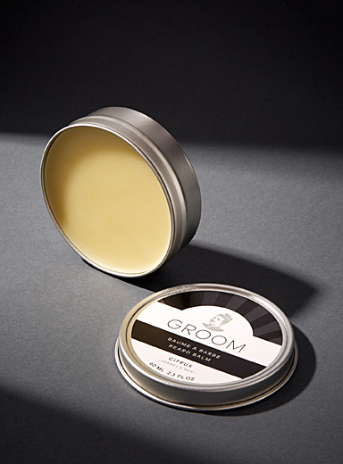 Industries Groom Silver Citrus, herbs and sea beard balm for men