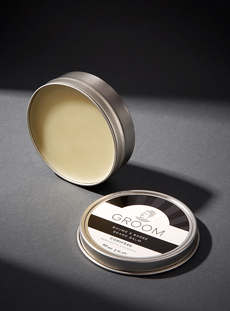 Industries Groom Silver Conifère beard balm for men