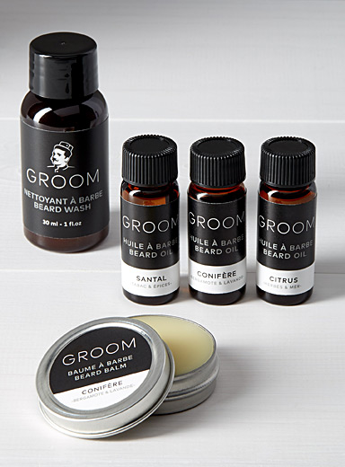 Beard care trial kit
