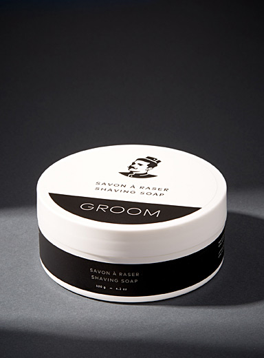 Creamy shaving soap