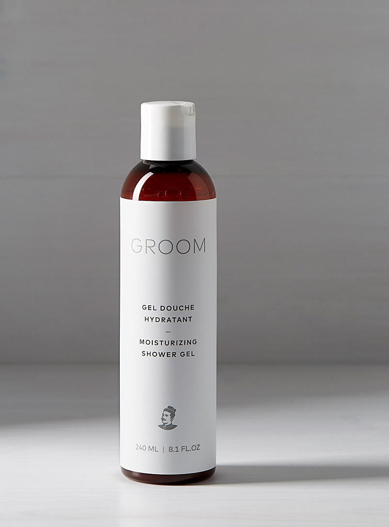 Industries Groom White Moisturizing shower gel for men