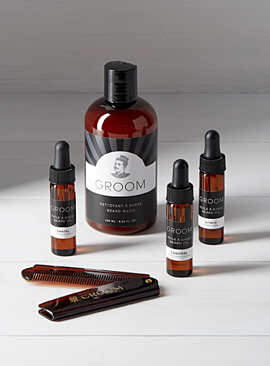 Beard care discovery set