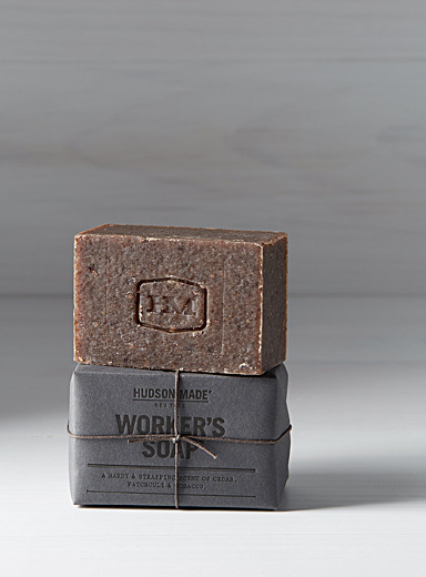 Le savon mains et corps Worker's soap