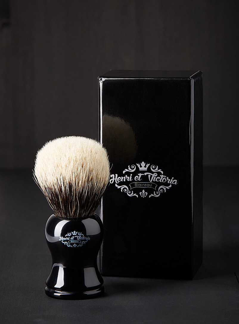 Henri & Victoria Black Sir Henri brush for men