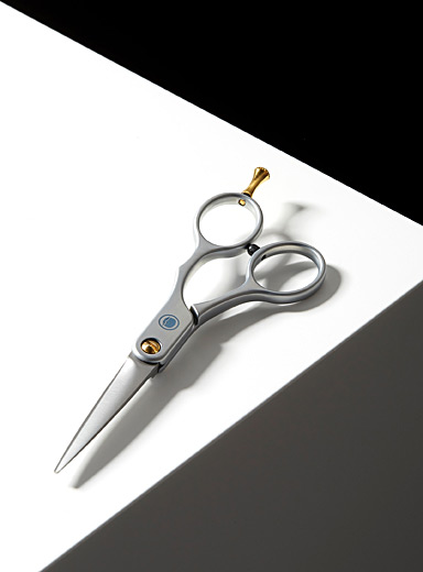 Beard and mustache scissors
