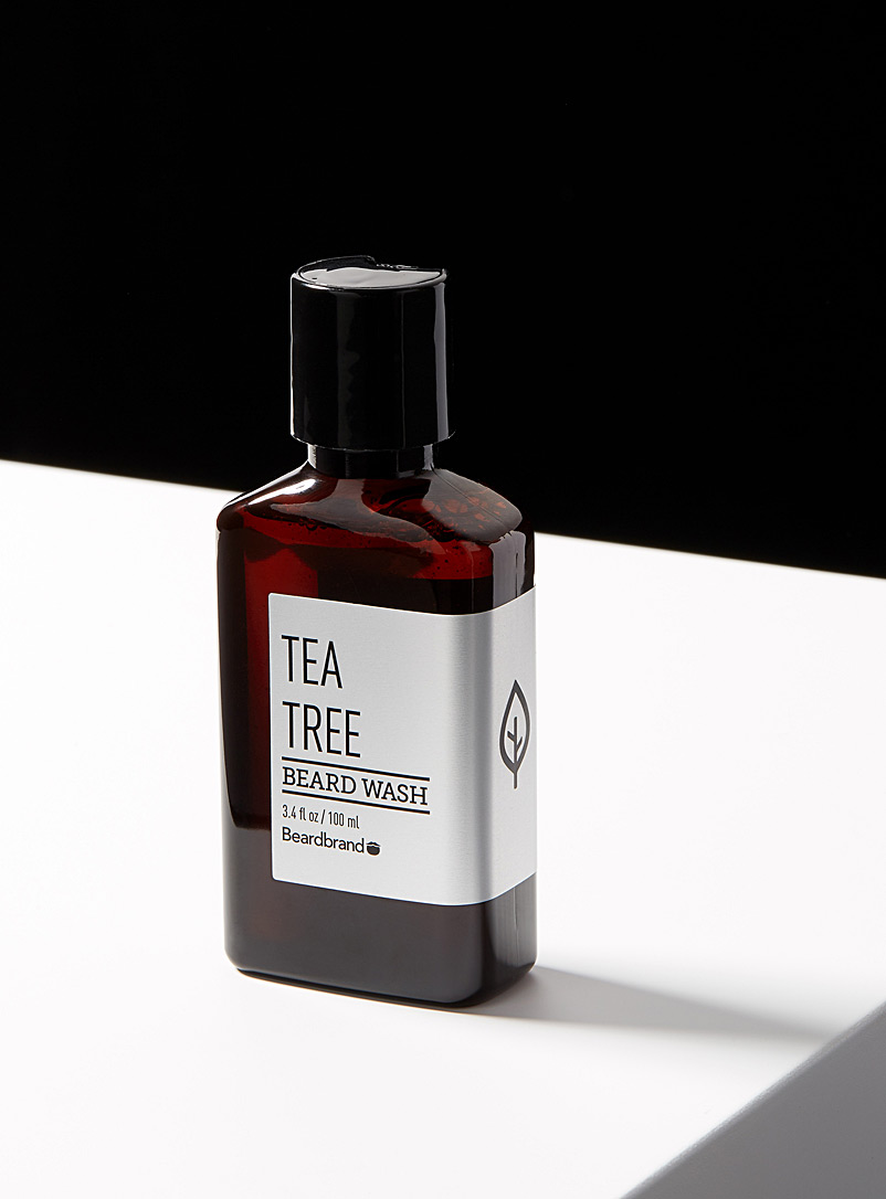 Beardbrand Assorted Tea Tree beard shampoo for men