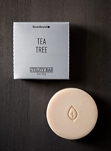 Beardbrand Ivory White Tea Tree all-in-one soap for men