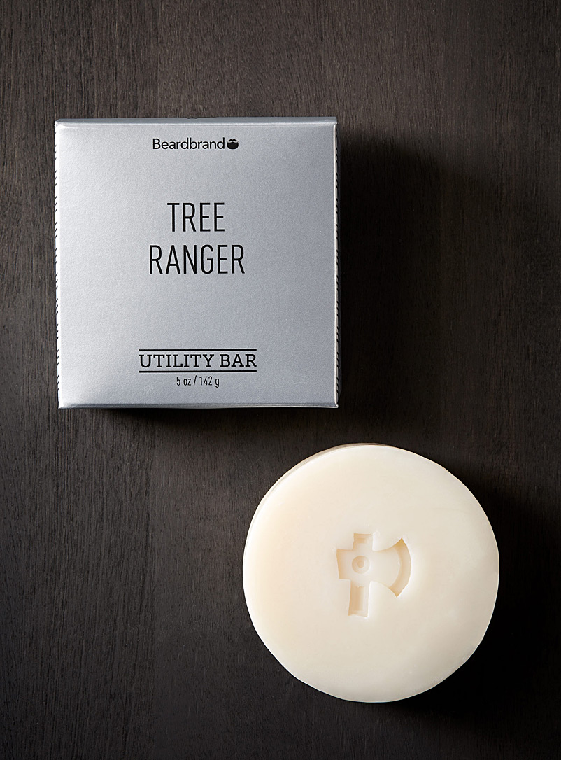 Beardbrand Ivory White Tree Ranger all-in-one soap for men