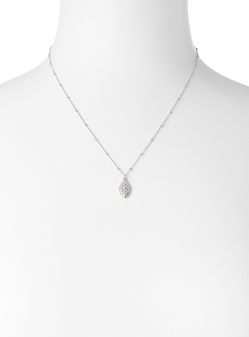 Warrior By Naomi Assorted Buddha necklace for women