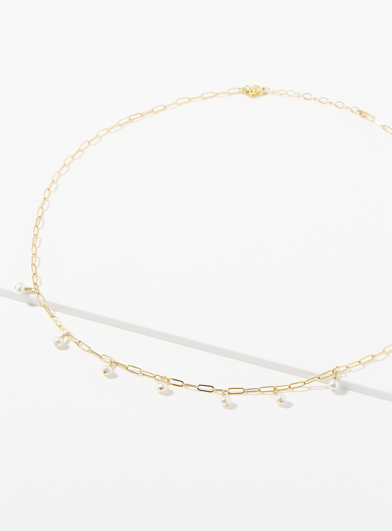 Warrior By Naomi Gold Rain necklace for women