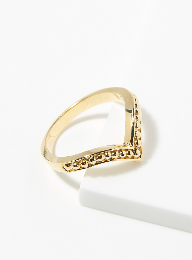 Warrior By Naomi Gold Kahlo ring for women