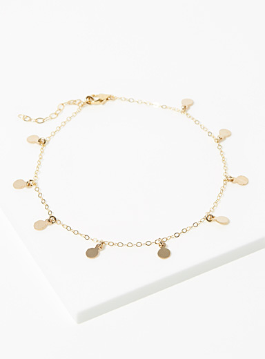 Jupiter Drop anklet