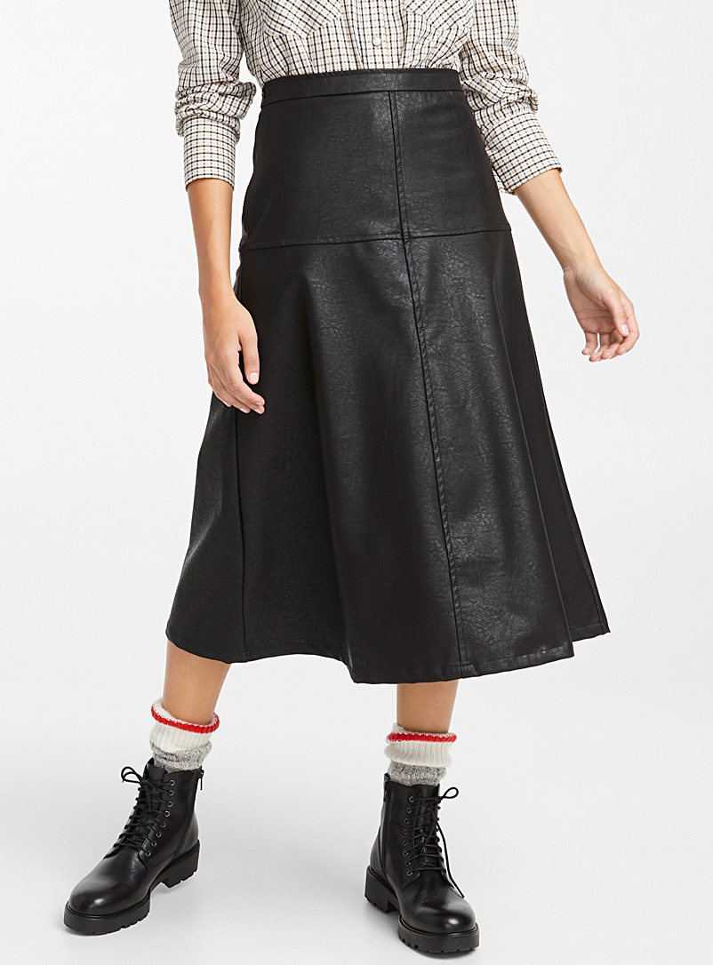 faux-leather-midi-skirt