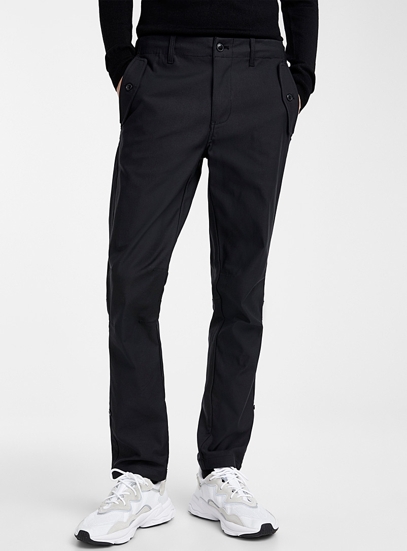 Monochrome utility pant  Straight fit - Straight fit - Black